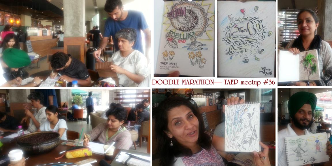 Doodle-marathon-july-2016